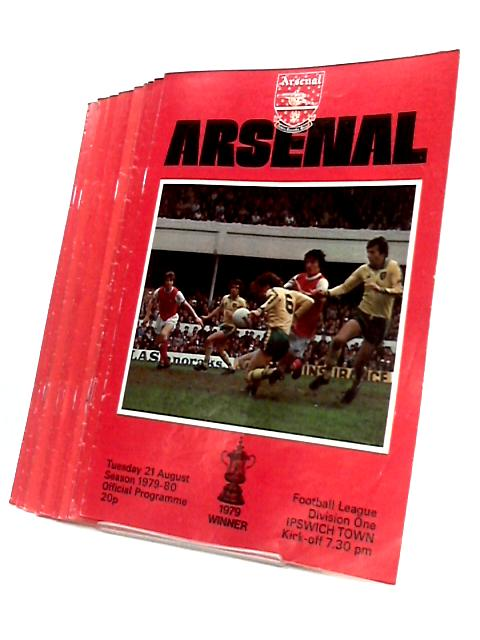 Arsenal Football Club Match Programme`s From 1978 to 1980. by Arsenal Football Club