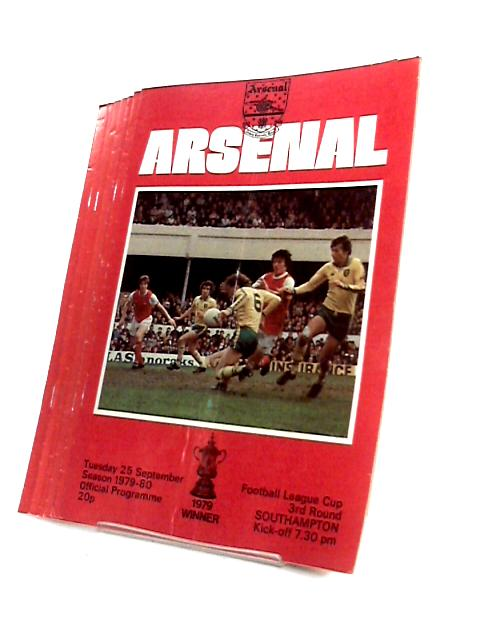 Arsenal Football Club FA Cup and League Cup 1979 to 1980. By Arsenal Football Club