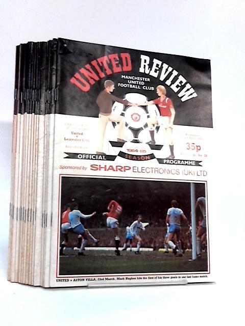 Manchester United Football Club Match Day Programmes From Season 1984 to 1986 by Manchester United Football Club PLC