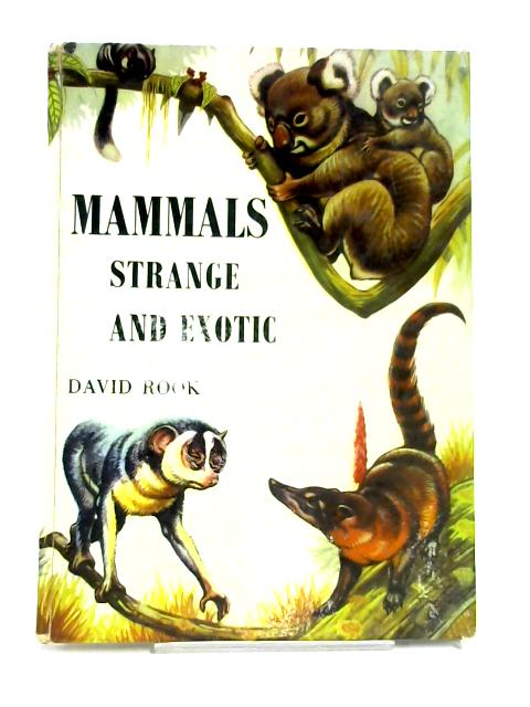 Mammals: Strange and Exotic by David Rook
