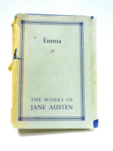 Emma. by Jane Austen