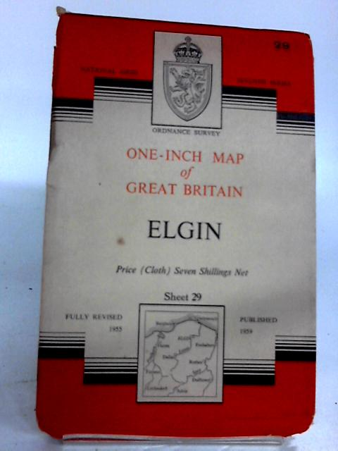 Elgin Sheet 29 (Ordnance Survey One-inch Map of Great Britain) by Ordnance Survey