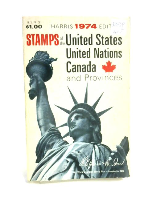 Stamps of the United States, United Nations, Canada and Provinces By Anon