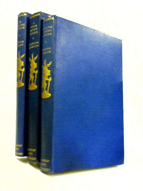 Travellers' Library 3 Titles; 'The Flying Bosun', 'A Poor Mans House', 'Sailing Across Europe' by Mason, Reynolds, Farson