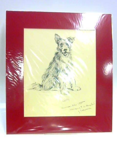 "Print of a Dog: ""Cosky"" by Unknown"