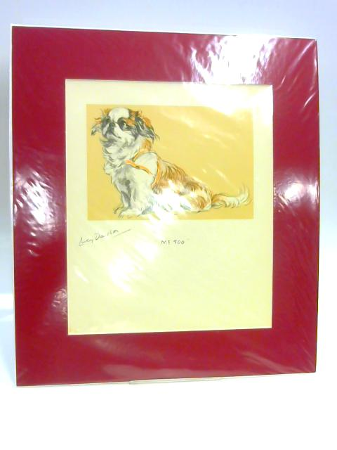 """Print of a Dog: """"Me Too"""" By Lucy Dawson"""