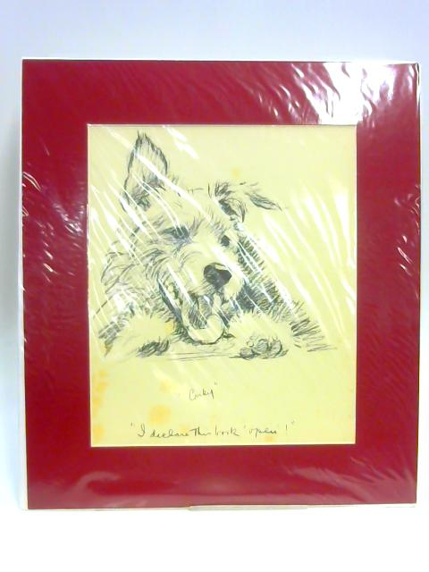 "Print of a Dog: ""Cosky"" by Lucy Dawson"