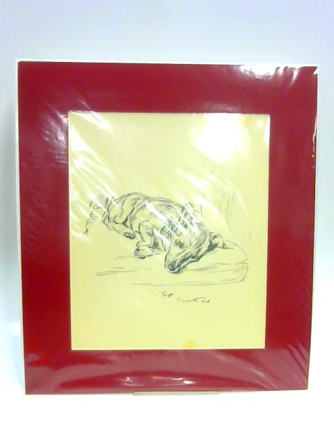 "Print of a Dog: ""Gyp"" by Lucy Dawson"