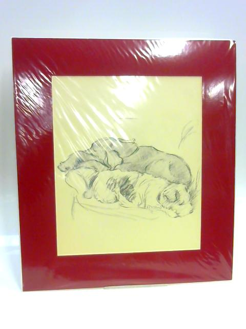 Print of Two Dogs By Lucy Dawson