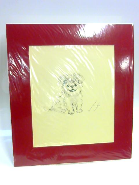 """Print of a Dog: """"Yum Yum"""" by Lucy Dawson"""