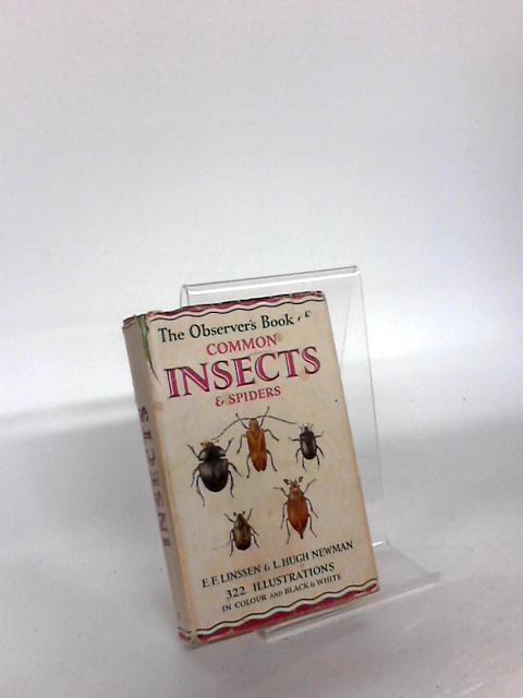 """The Observer""""s Book Of Common Insects and Spiders by E. F. Linssen"""