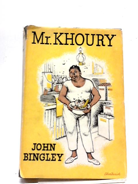 Mr.Khoury by John Bingley