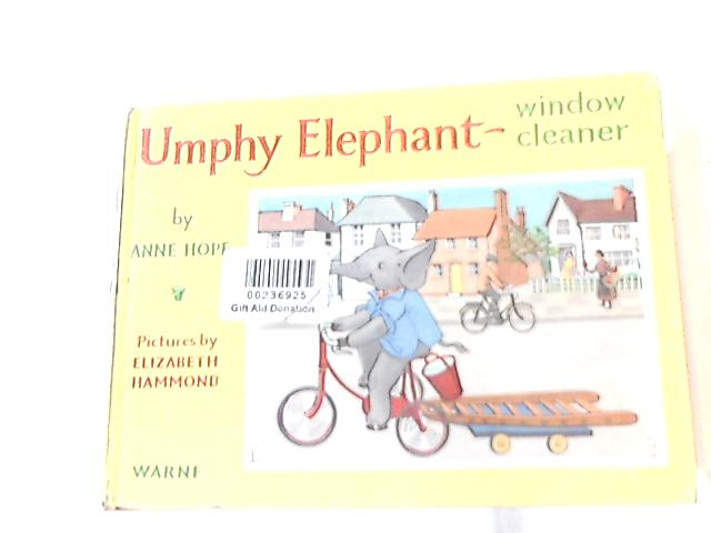 Umphy Elephant - Window Cleaner by Anne Hope