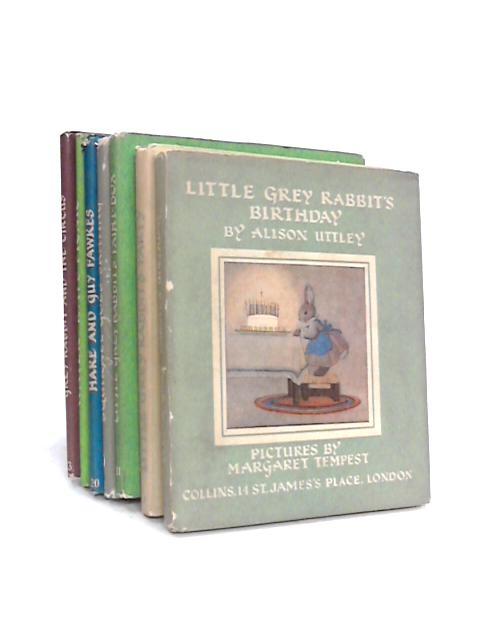 Collection of Seven Little Grey Rabbit Books by Alison Uttley