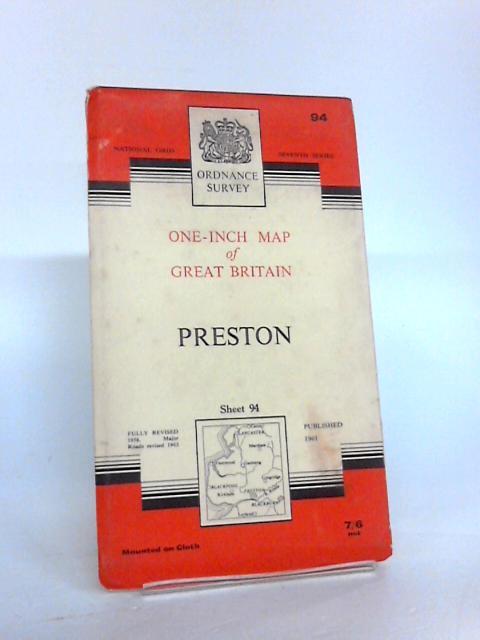 Preston One-Inch Map (Sheet 94) by Ordnance Survey
