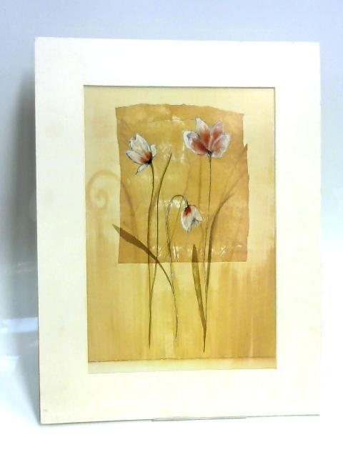Print of Flowers by Unknown