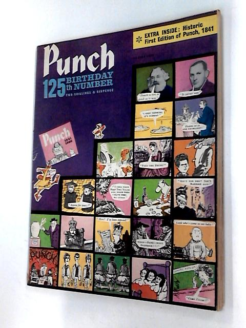 Punch 13th July 1966 comic 125th Birthday Number by Unknown