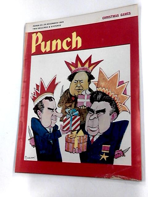 Punch 24 - 30 december 1969 by Bernard hollowood