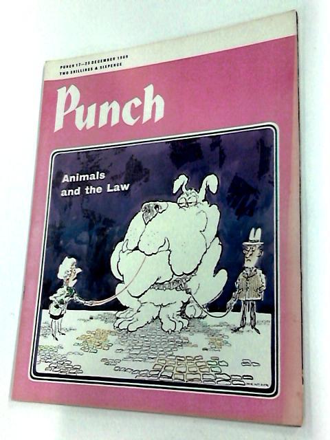 Punch 17-23 December 1969 by Bernard hollowood