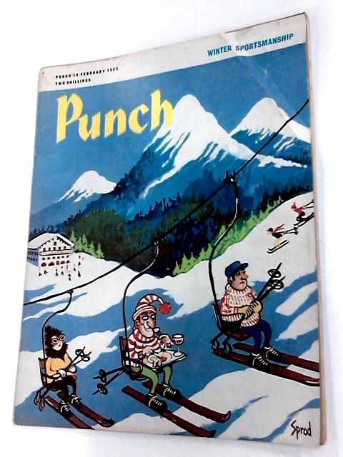 Punch 19 february 1969 by Bernard hollowood