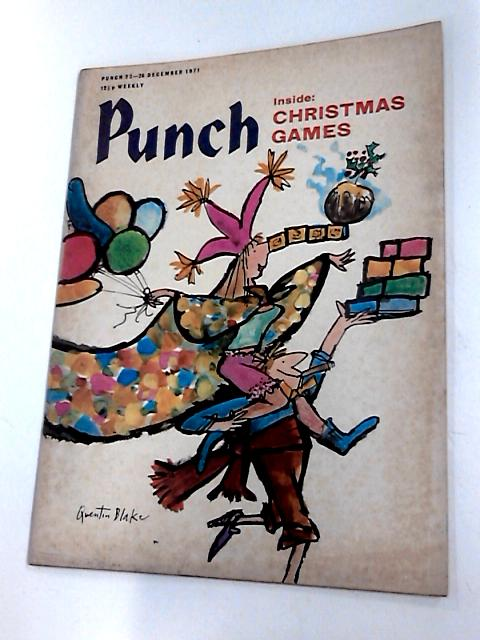 Punch 2 - 28 december 1971 by Bernard hollowood