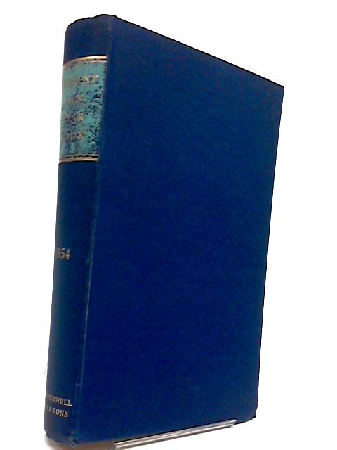 Current Law Year Book 1954 by Edited by John Burke