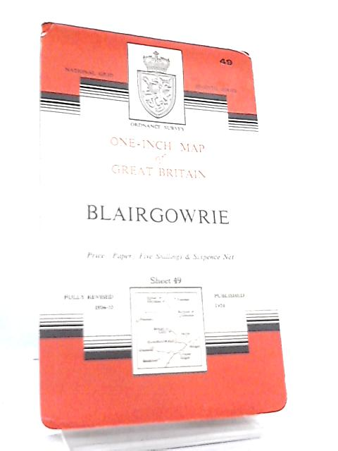 One-Inch Map of Great Britain Sheet 49 Blairgowrie by Anon