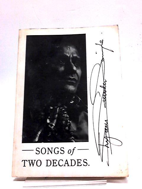 Songs of Two Decades Shyam Singha Poems 1962-1986 by Shyam Singha