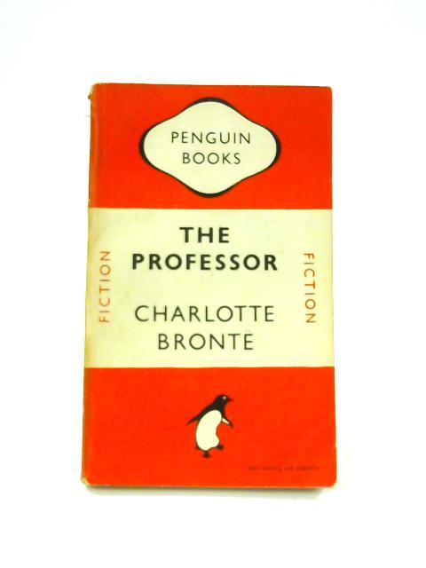 The Professor - Framed Vintage Penguin Book by Charlotte Bronte