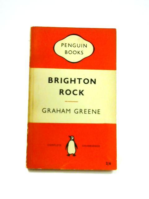 Brighton Rock - Framed Vintage Penguin Book by Graham Greene