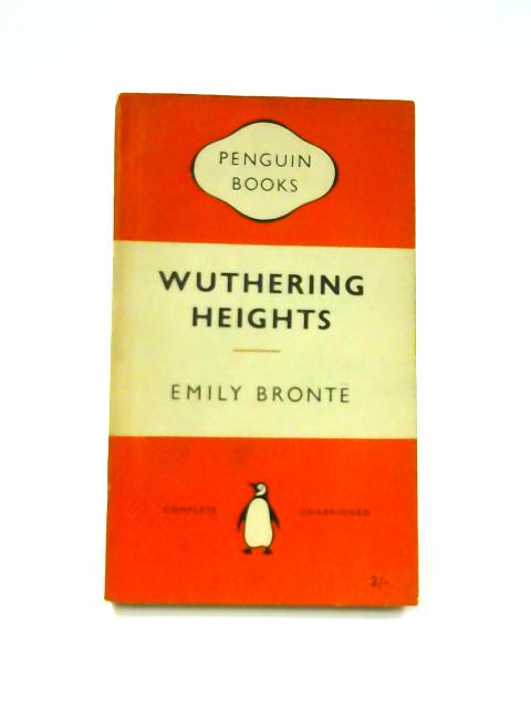 Wuthering Heights - Framed Vintage Penguin Book by Emily Bronte