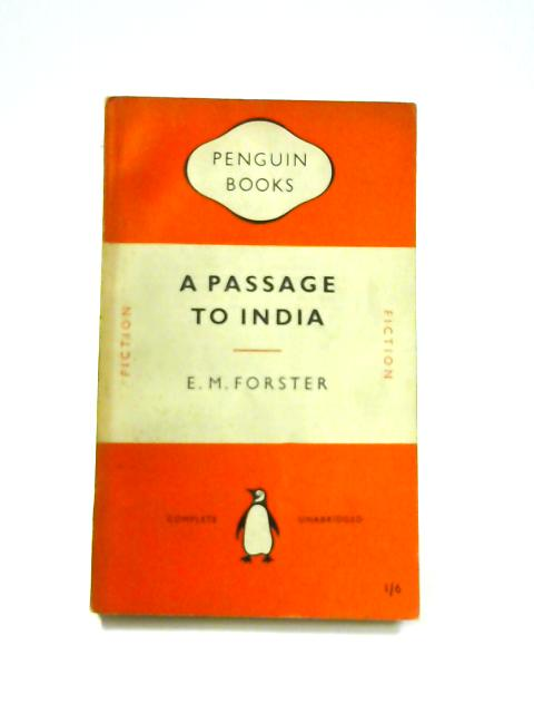 A Passage to India - Framed Vintage Penguin Book by E.M. Forster