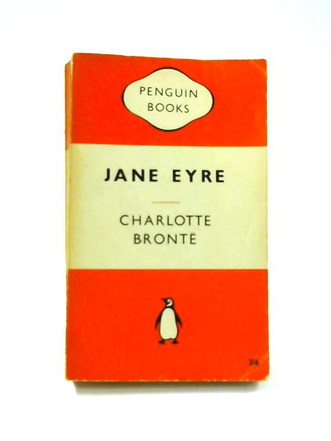 Jane Eyre - Framed Vintage Penguin Book by Charlotte Bronte