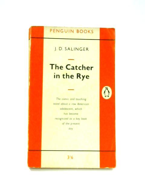 The Catcher in the Rye - Framed Vintage Penguin Book by J.D. Salinger