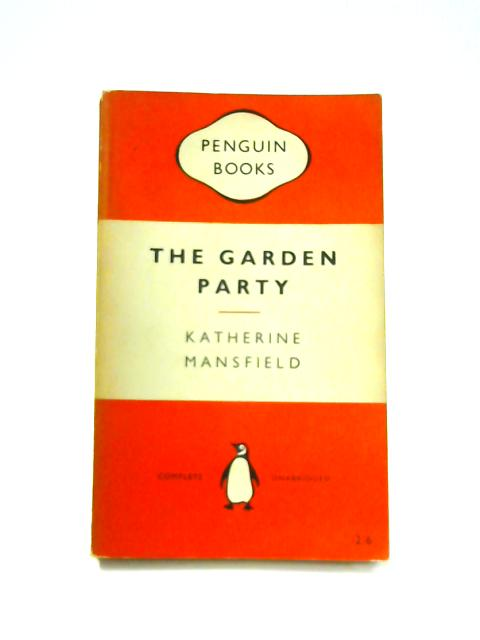 The Garden Party - Framed Vintage Penguin Book by Katherine Mansfield