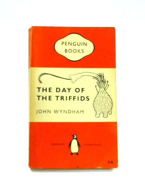 The Day of Triffids - Framed Vintage Penguin Book by John Wyndham
