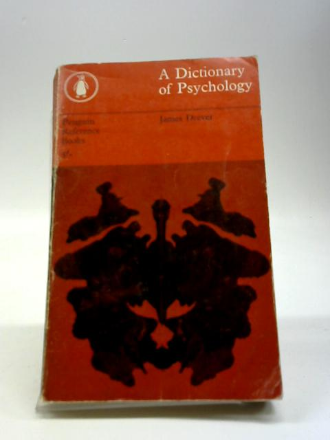The Penguin Dictionary of Psychology By James Drever