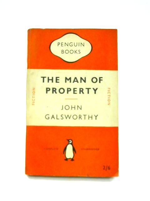 The Man of Property - Framed Vintage Penguin Book by John Galsworthy