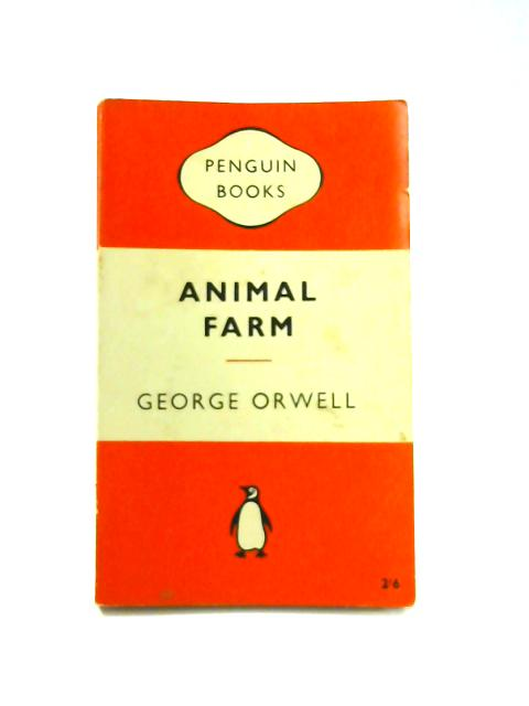 Animal Farm - Framed Vintage Penguin Book by George Orwell