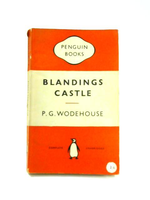 Blandings Castle - Framed Vintage Penguin Book by P.G. Wodehouse