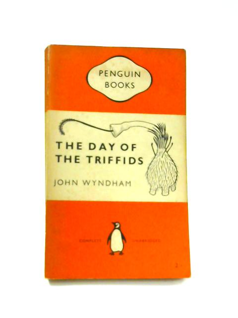The Day of the Triffids - Framed Vintage Penguin Book by John Wyndham