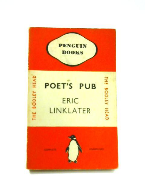 Poet's Pub - Framed Vintage Penguin Book by Eric Linklater
