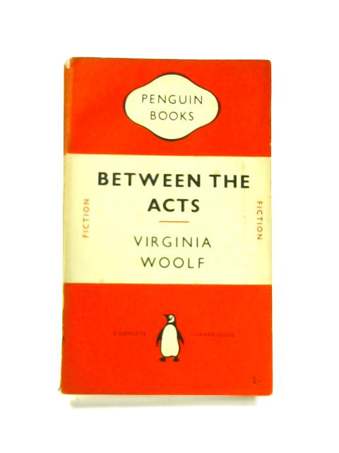 Between the Acts - Framed Vintage Penguin Book by Virginia Woolf