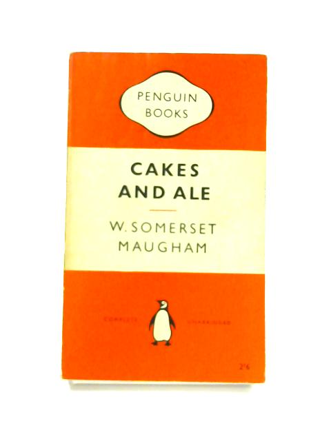 Cakes and Ale - Framed Vintage Penguin Book by W. Somerset Maugham