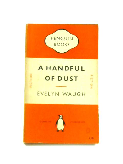 A Handful of Dust - Framed Vintage Penguin Book by Evelyn Waugh