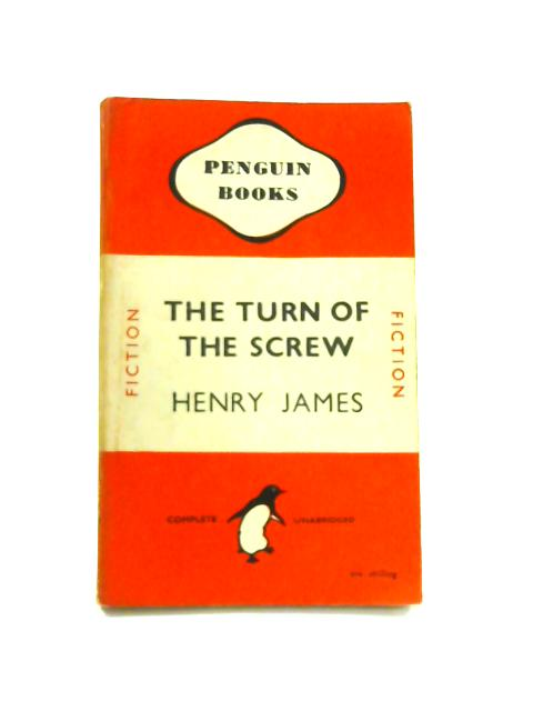The Turn of the Screw - Framed Vintage Penguin Book by Henry James