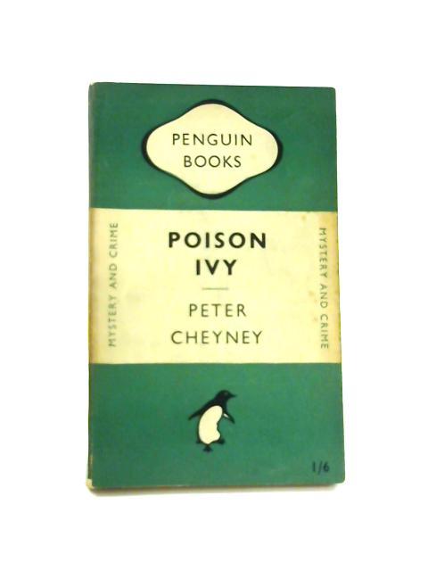 Poison Ivy - Framed Vintage Penguin Book by Peter Cheyney
