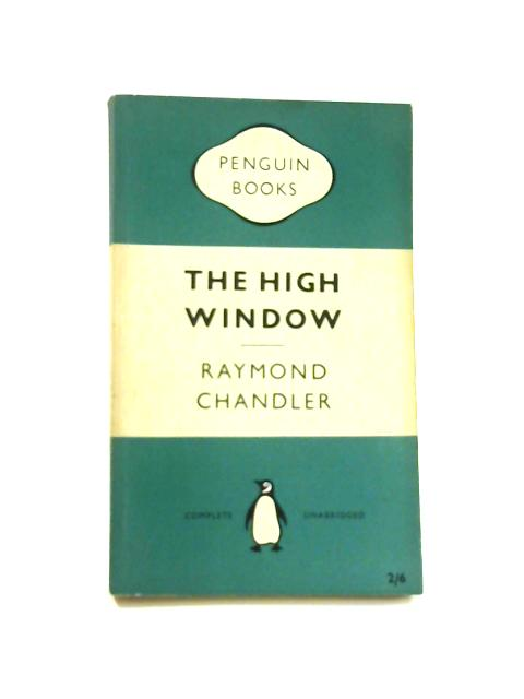 The High Window - Framed Vintage Penguin Book by Raymond Chandler