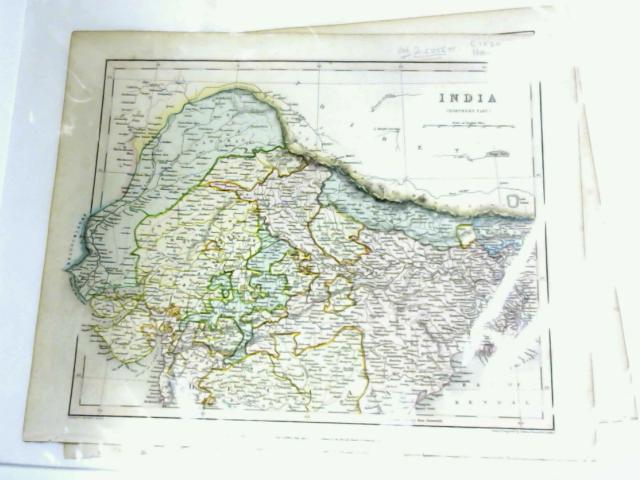 Map of India on Two Sheets by J. Archer