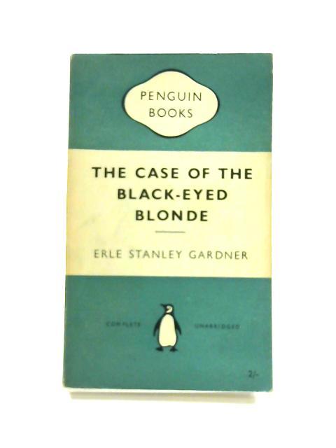 The Case of the Black- Eyed Blonde - Framed Vintage Penguin Book by Erle Stanley Gardener